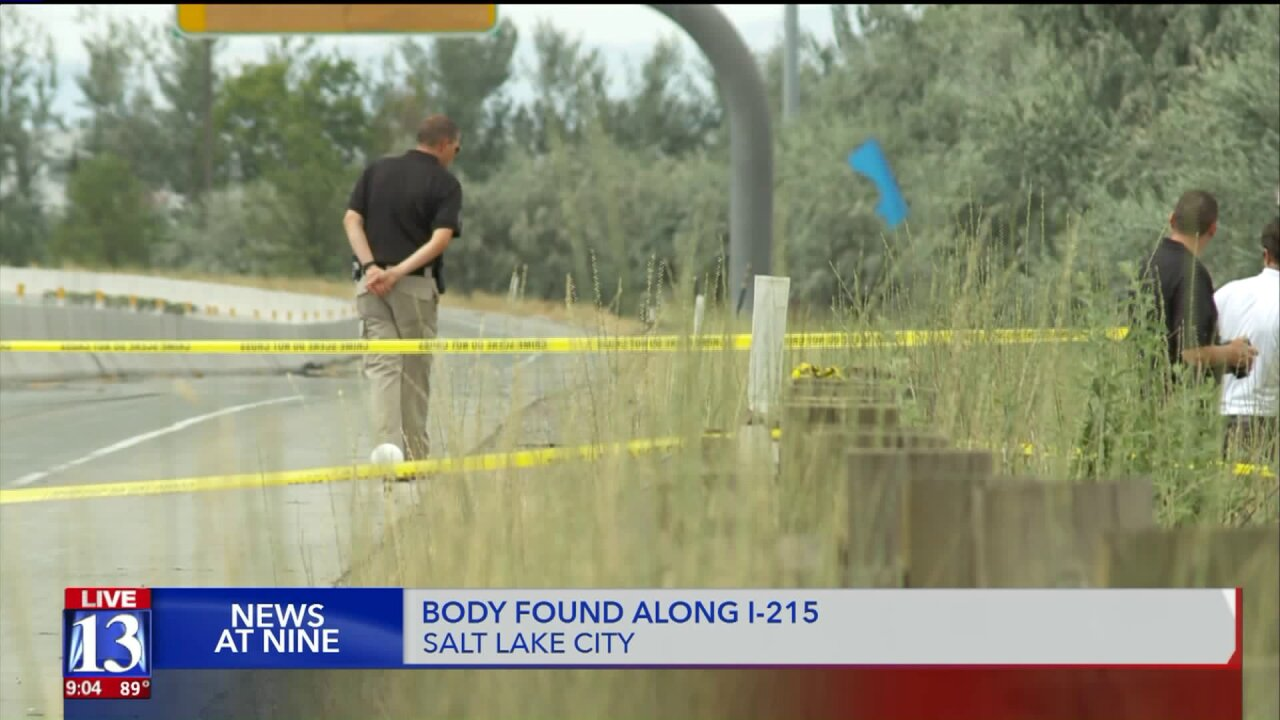Mangled body found along I-215, UHP investigating case as a homicide for now