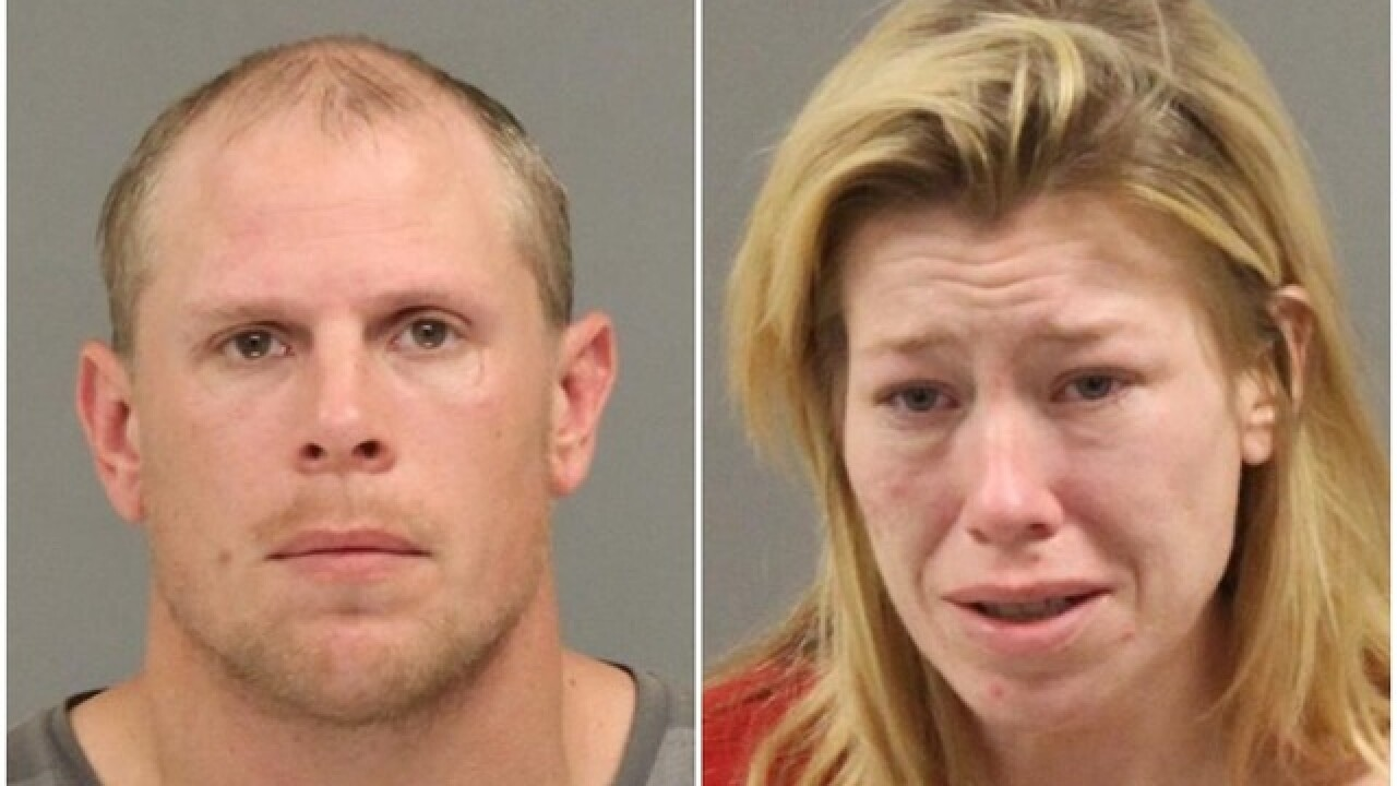 Man, woman facing murder charges in 2-year-old's suffocation death in Wayne