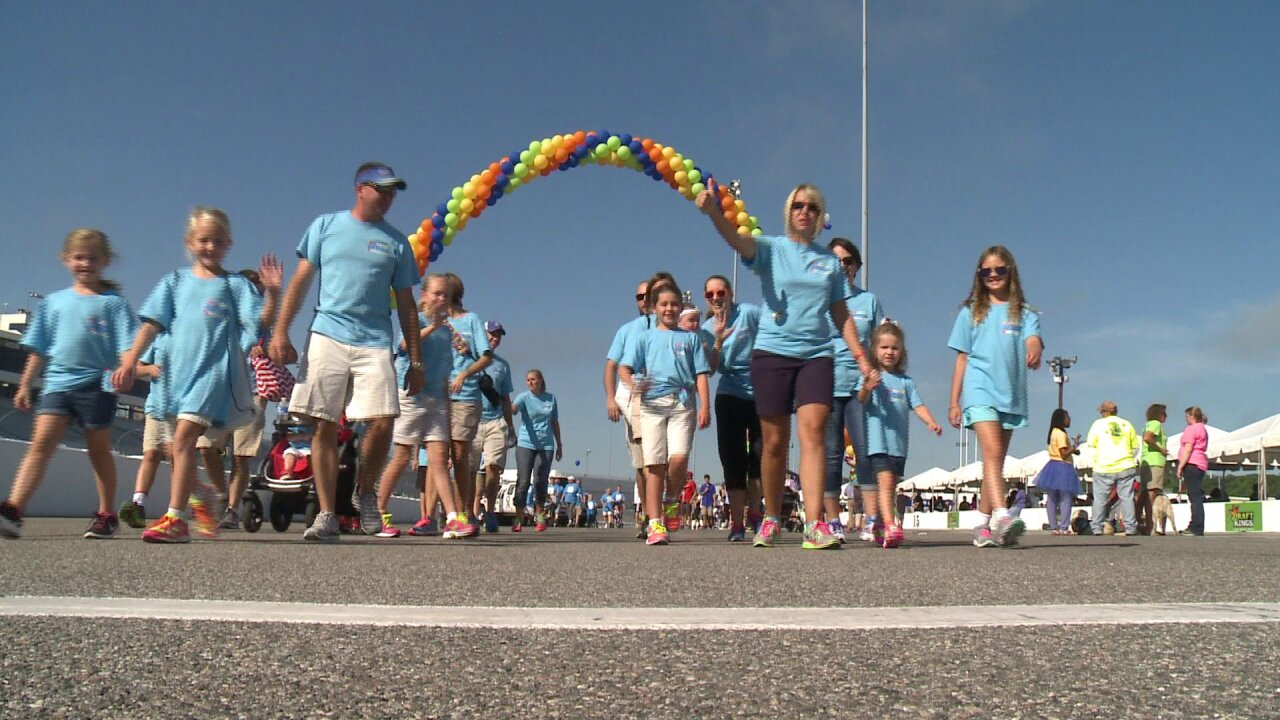 Hundreds take part in Walk Now For Autism Speaks at RIR
