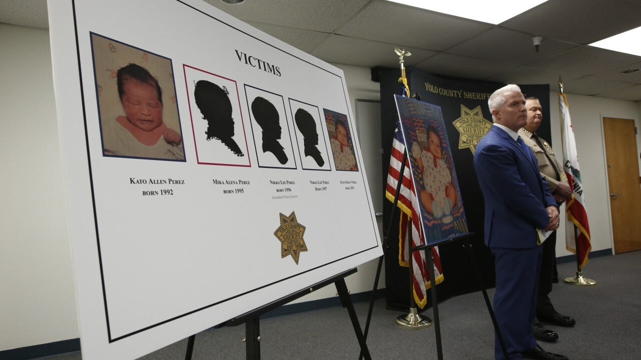 Photos: Father arrested in killings of his 5 infant children in California cold case