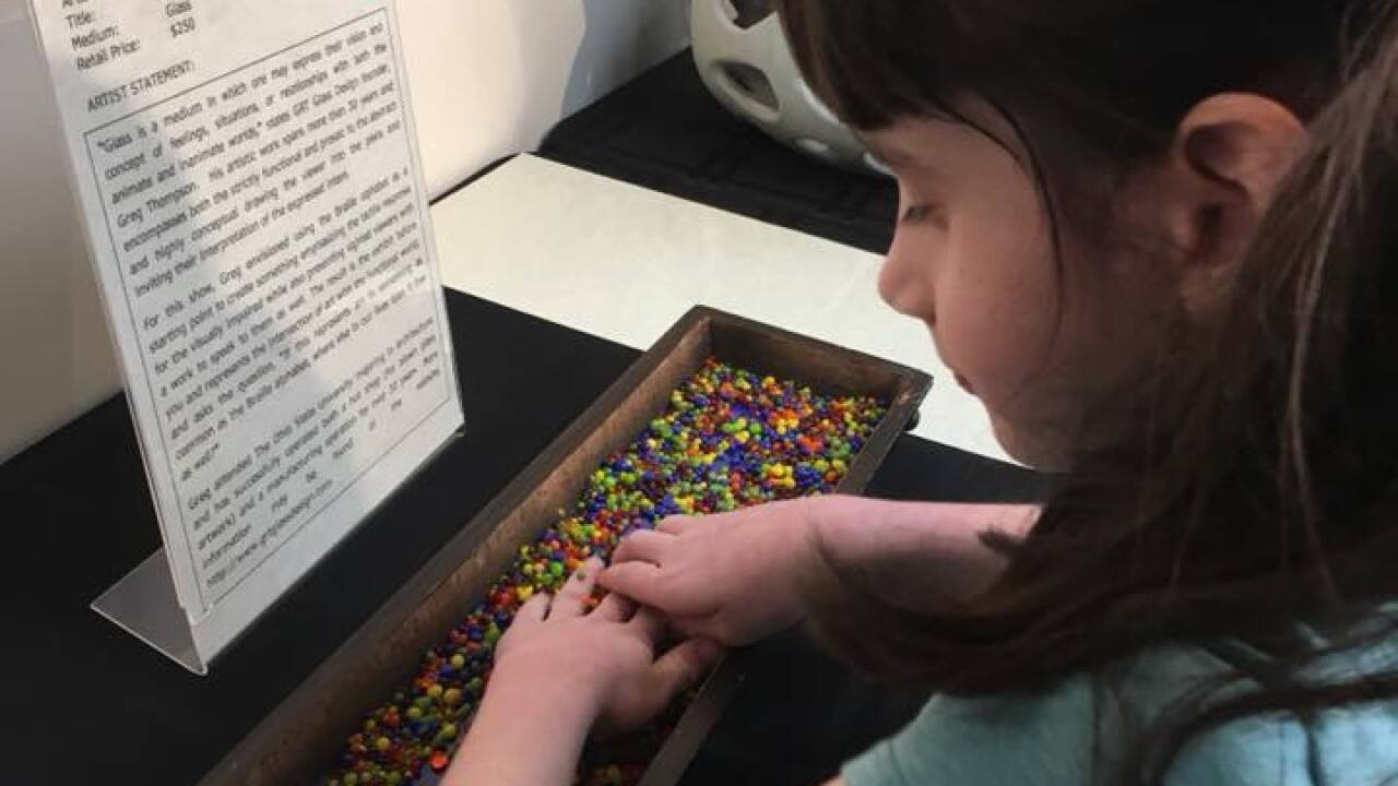 Art Exhibit Accessible To Visually Impaired Comes To