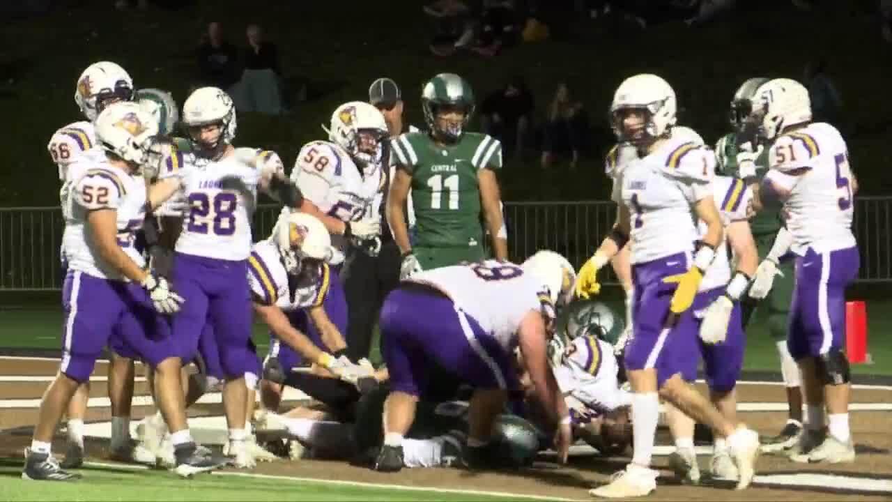 Laurel vs. Billings Central football