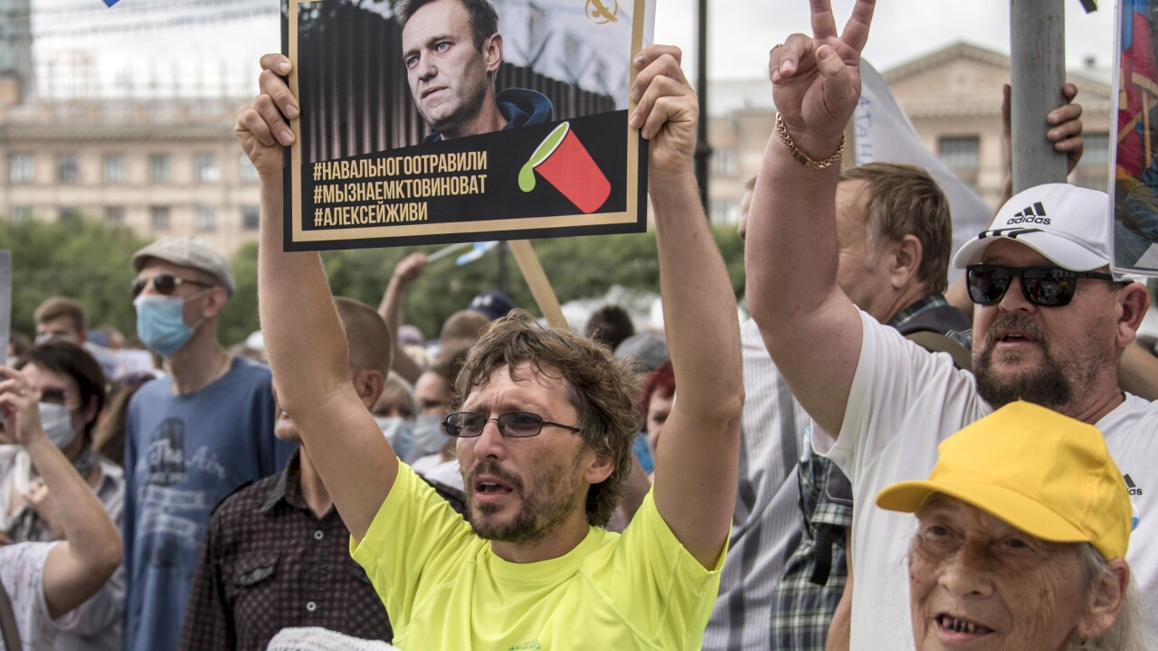 German hospital: Poisoning signs found in Russian dissident Alexei Navalny