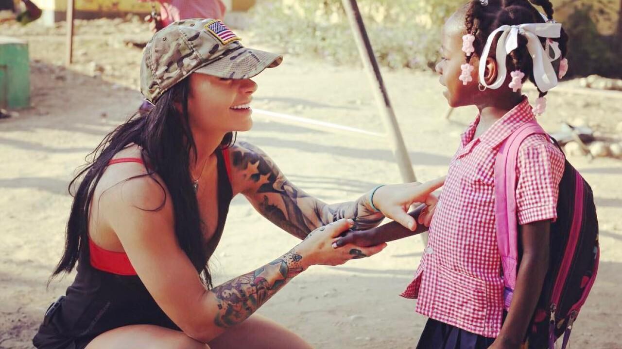 Local business owner Ashley Horner set to run 230 miles in Haiti for children inneed.