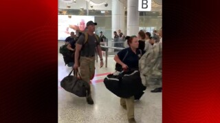 American firefighters were welcomed with applause as they arrived in Australia to help battle fires