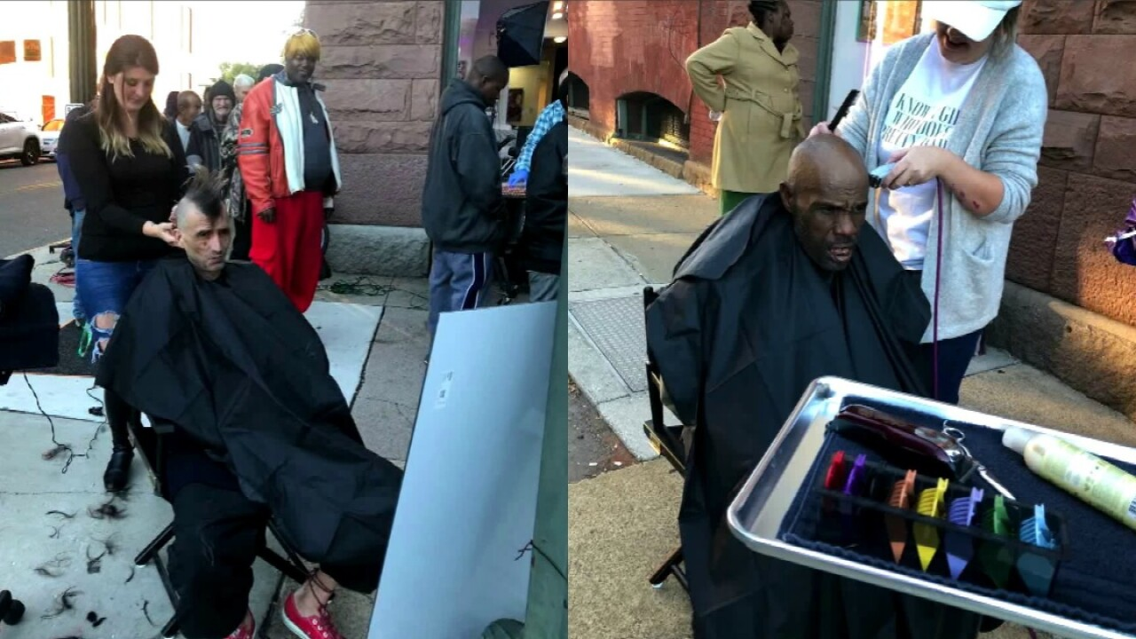 'Vision from God' prompts stylist to start free haircuts ministry for homeless inRichmond