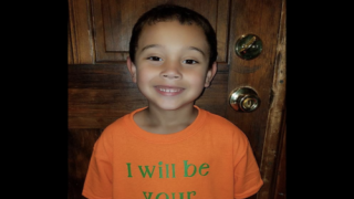 This Boy Made A Shirt That Said 'I Will Be Your Friend' For The First Day Of School