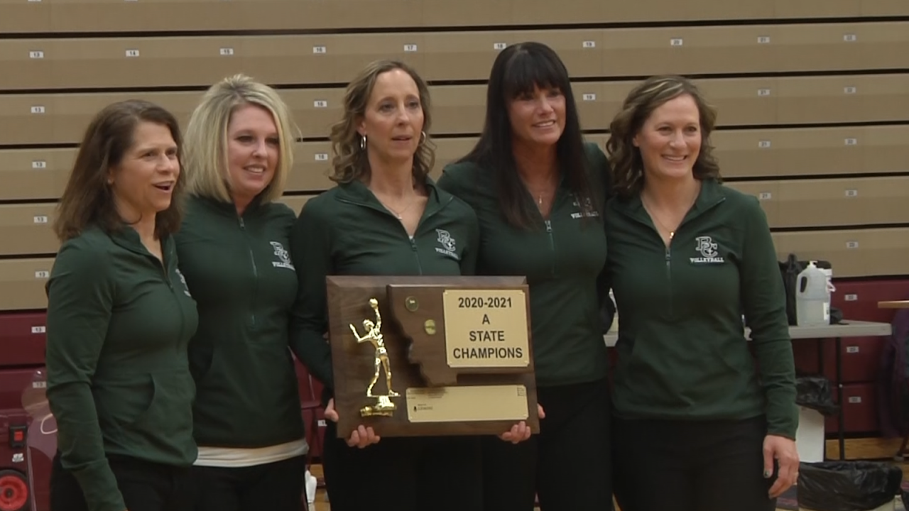 Anita Foster Billings Central volleyball coaches.png