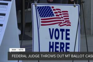 Federal judge throws out Montana ballot case