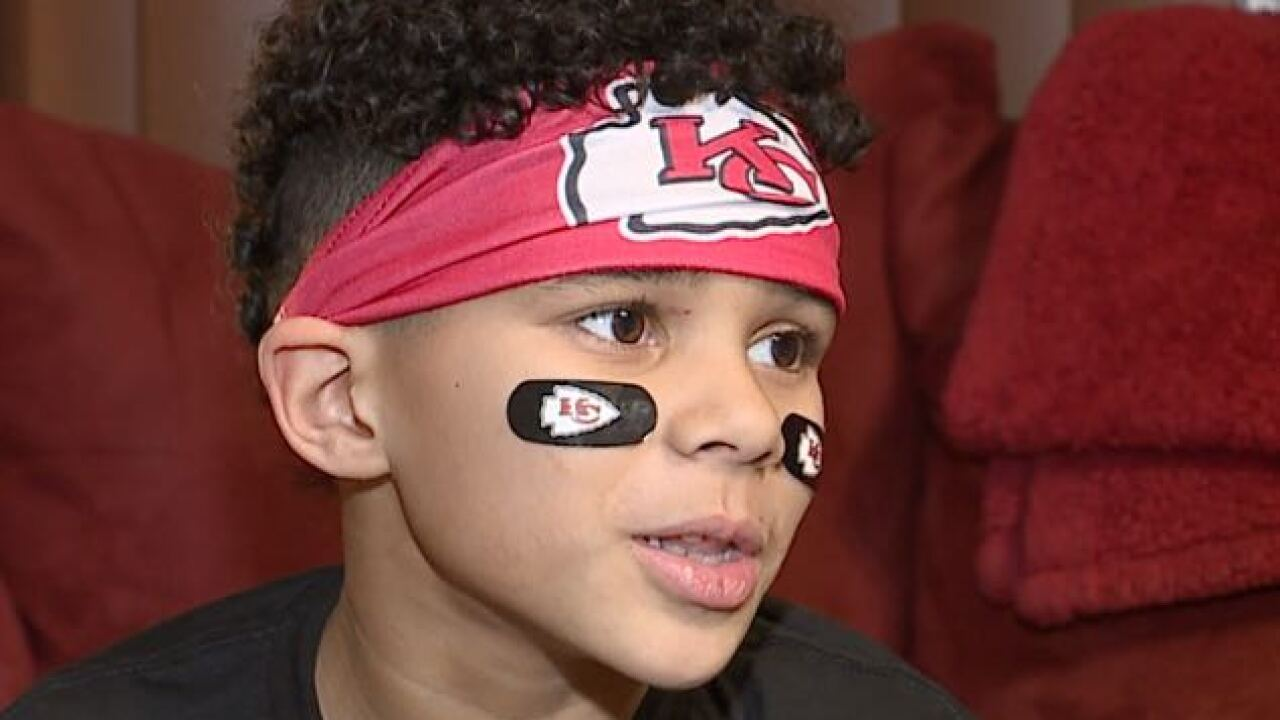 More Children Asking For The Mahomes Haircut