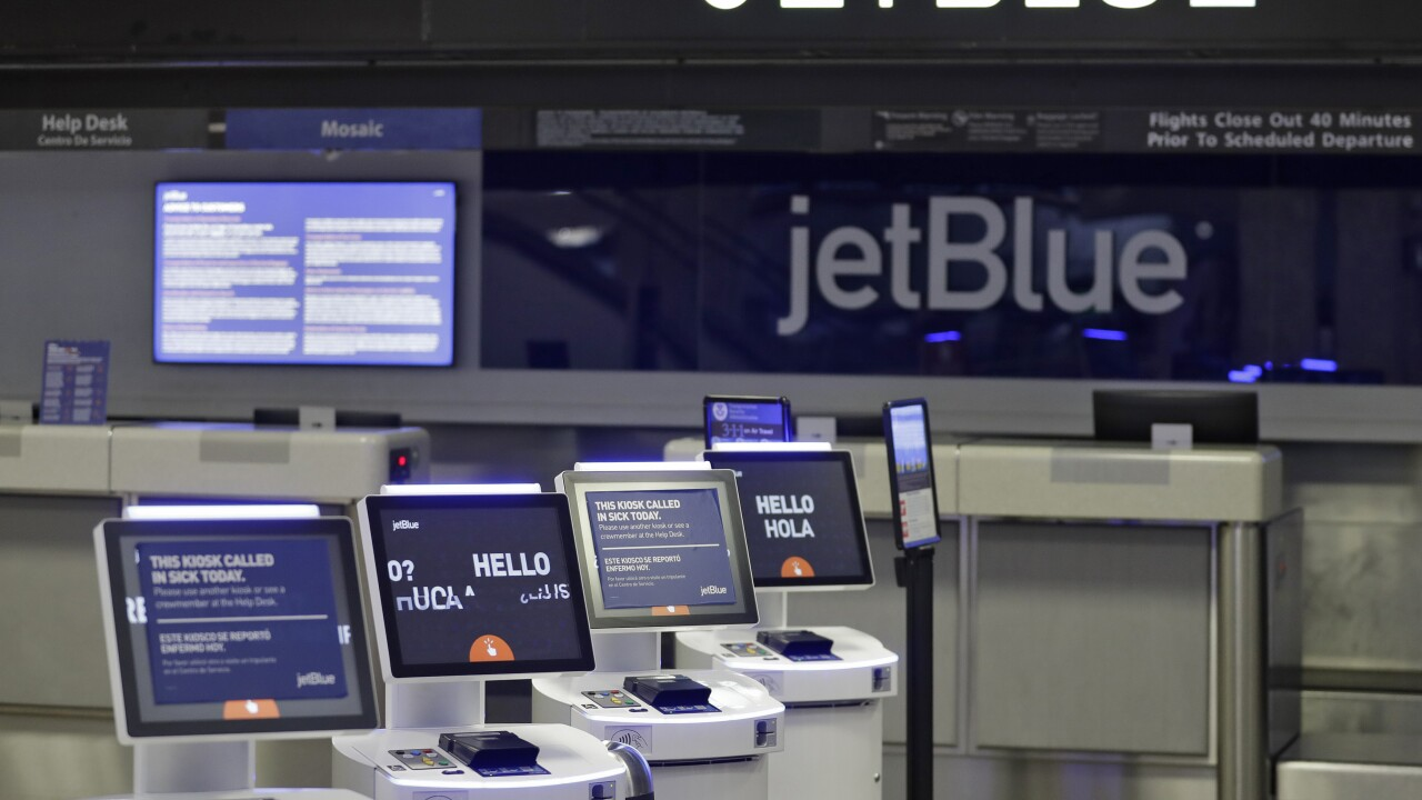 JetBlue will honor 100K healthcare workers with free roundtrip flight certificates