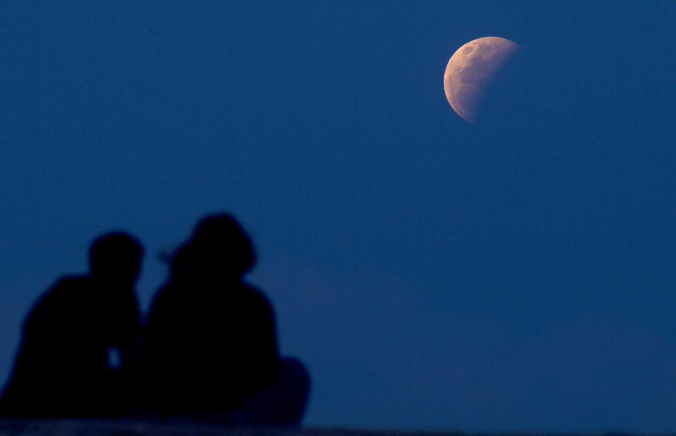 Lunar Eclipse Indonesia