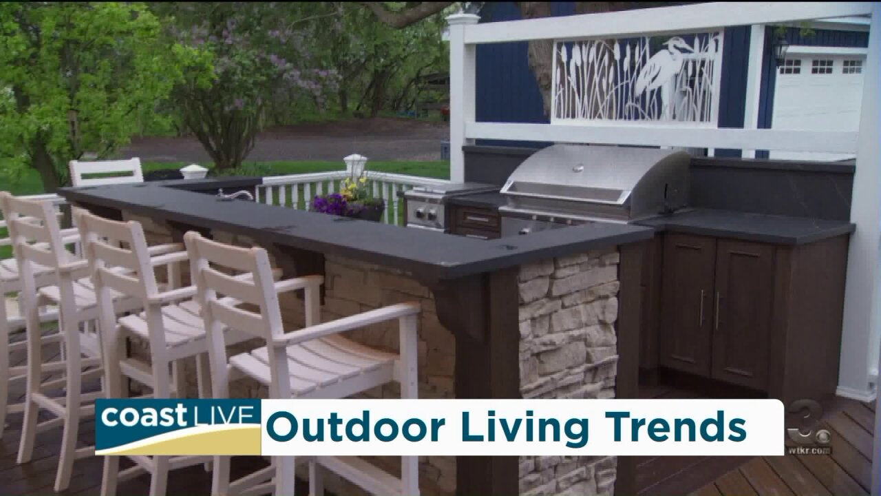 Celebrity carpenter Kate Campbell on shaking things up outside on CoastLive