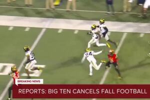 Reports: Big Ten cancels fall football