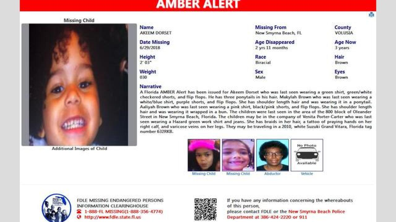 Amber Alert Canceled For 3 Missing Children From Volusia County