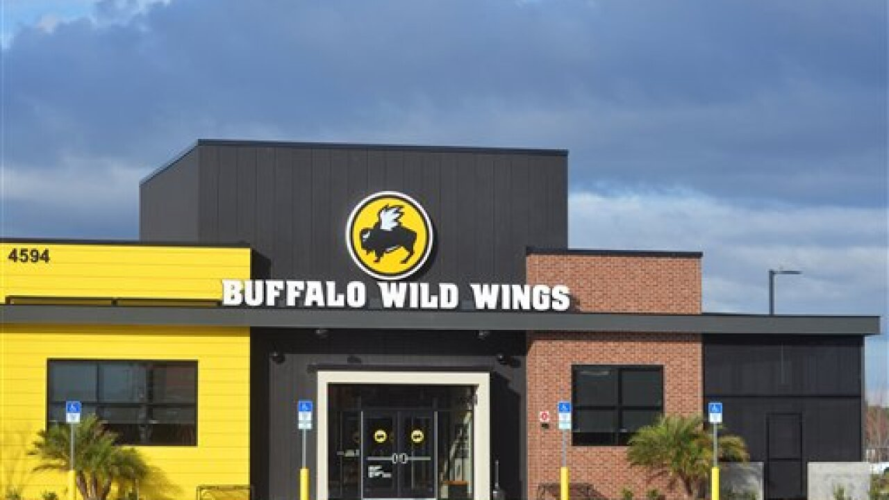 A Buffalo Wild Wings restaurant in Jacksonville, Fl.