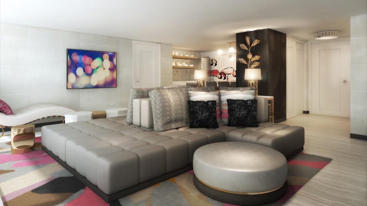 Flamingo Las Vegas_Bunk Bed Suite Rendering_Parlor Living Room_Final.jpg