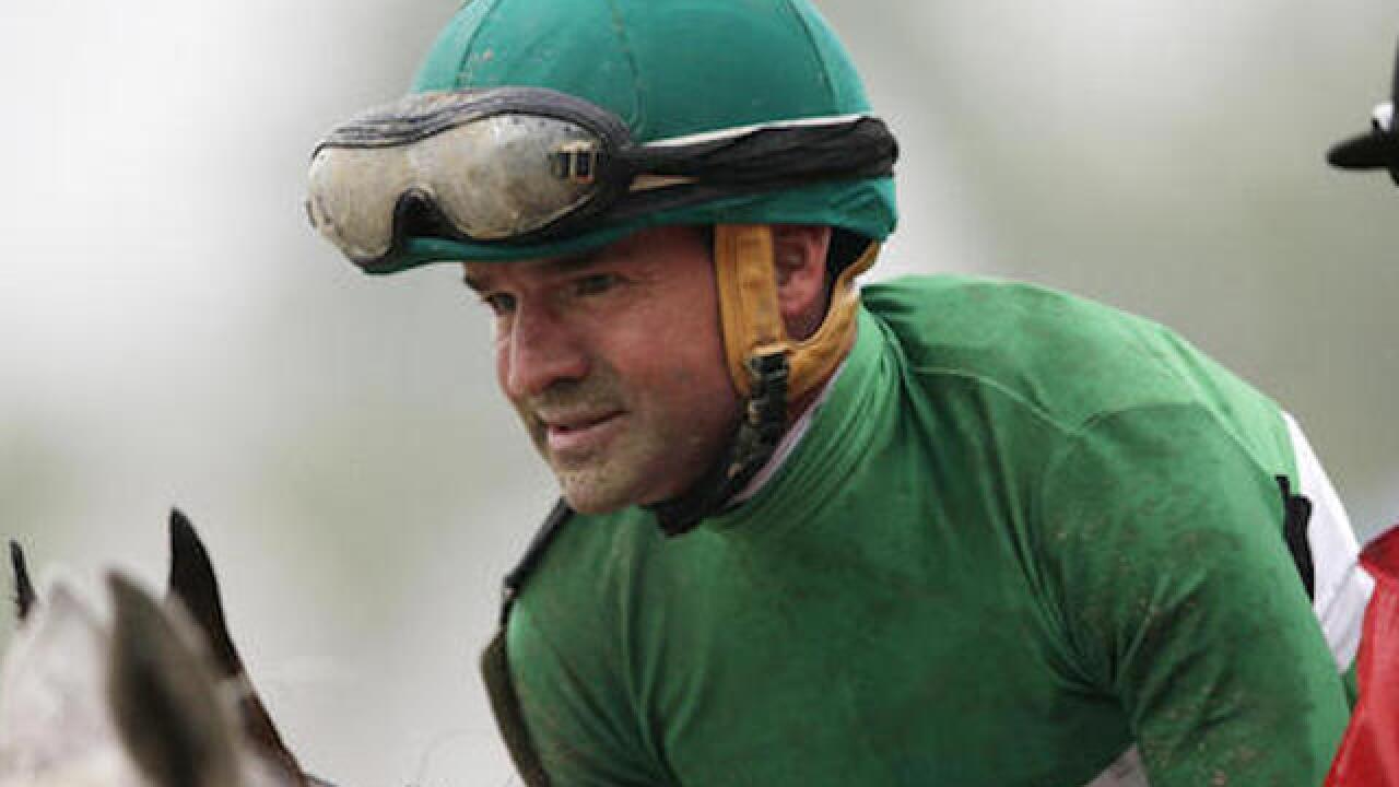 Preakness-winning jockey out of rehab