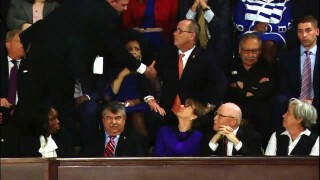 Fred Guttenberg, a father of Parkland victim was,  ejected from State of the Union after yelling at Pres. Trump during his speech.