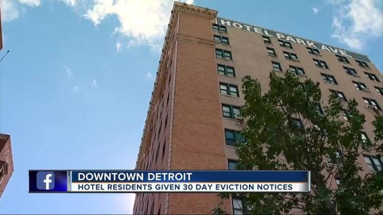 Downtown hotel residents given eviction notices