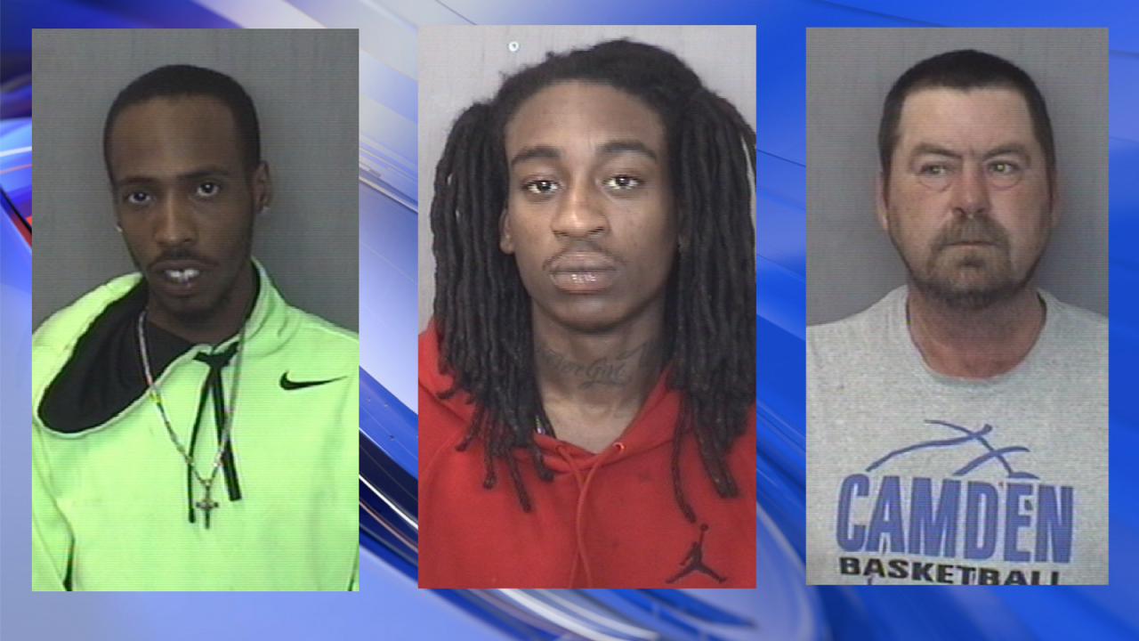 Three arrested after driver shoots at another vehicle during Camden Co. incident