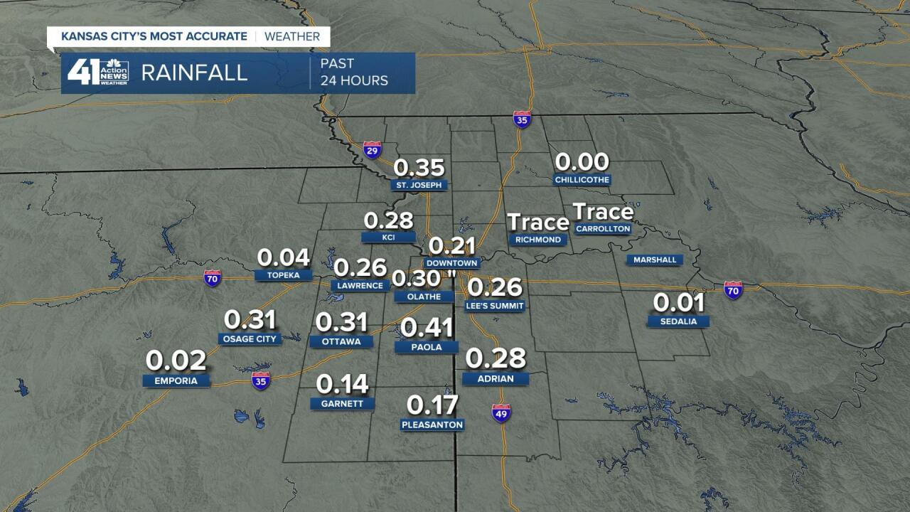 Rainfall Amounts