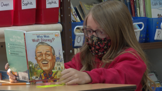 Holy Ghost Lutheran School students have read 500+ books this school year