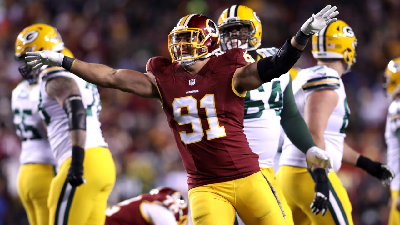 Pack is back at FedEx Field as Redskins host Green Bay