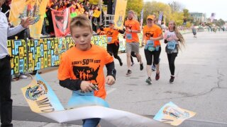 This 11-year-old has run a half marathon in all 50 states