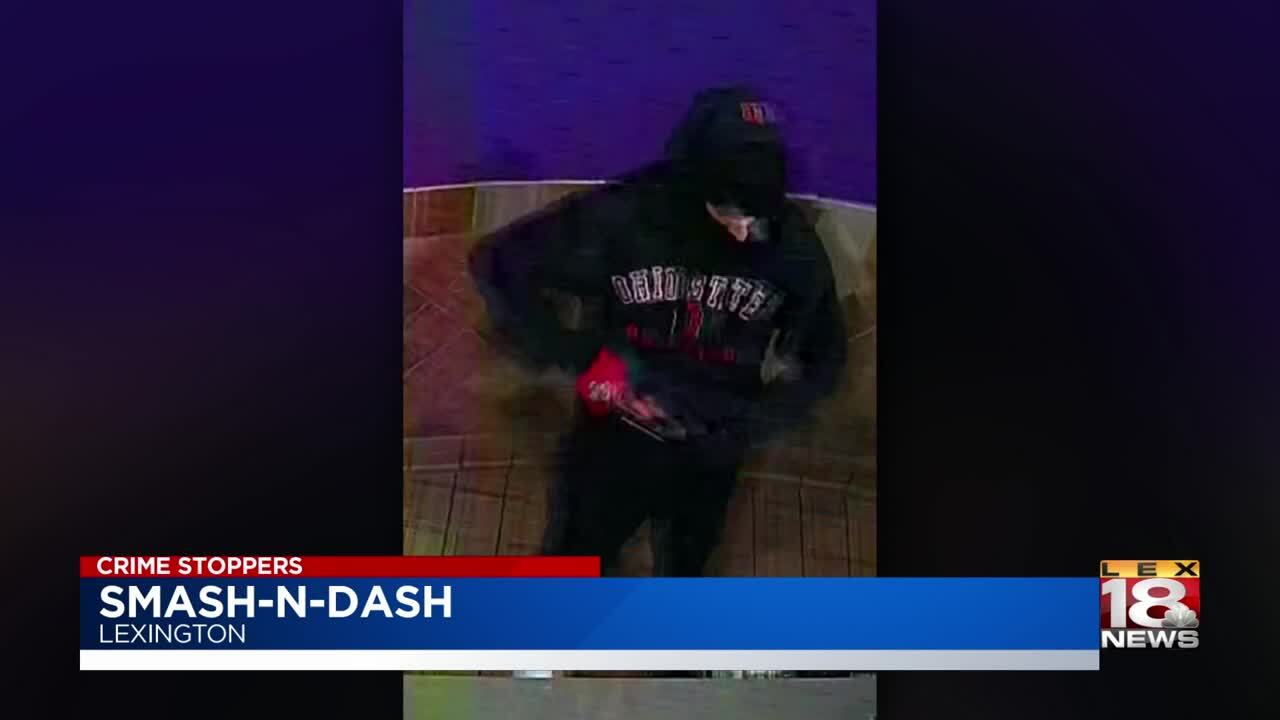 LEX 18 Crime Stoppers: Smash-n-dash at the Taco Bell