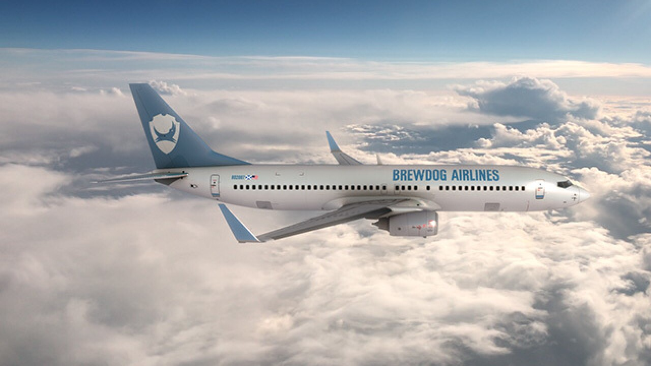 BrewDog launches world's first beer airline