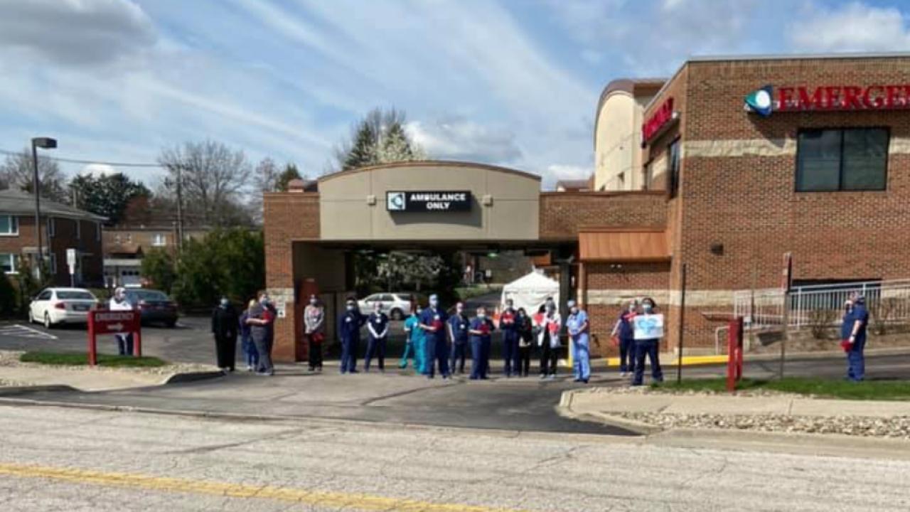Western Reserve Hospital Cuyahoga Falls Parade