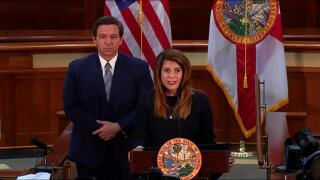 Judge Jamie Grosshans introduced as replacement appointment to Florida Supreme Court, Sept. 14, 2020