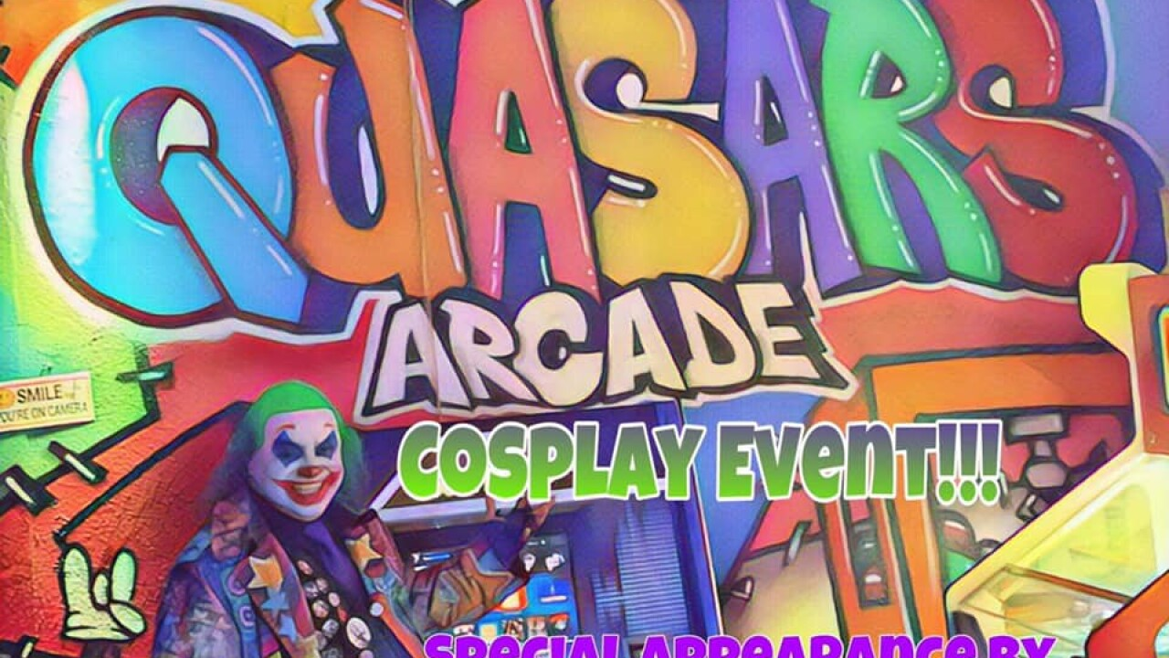 Quasars arcade - ‎Cosplay event! Saturday the 14th.jpg