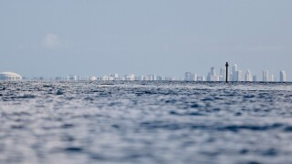 A view of St. Petersburg, Florida from Bishop Harbor.