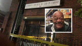 Man shot near Brooklyn church