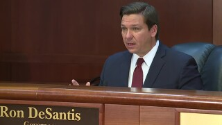 Gov. Ron DeSantis on April 9, 2020.