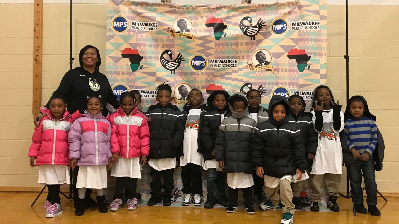 NBA star provides entire elementary school with winter coats