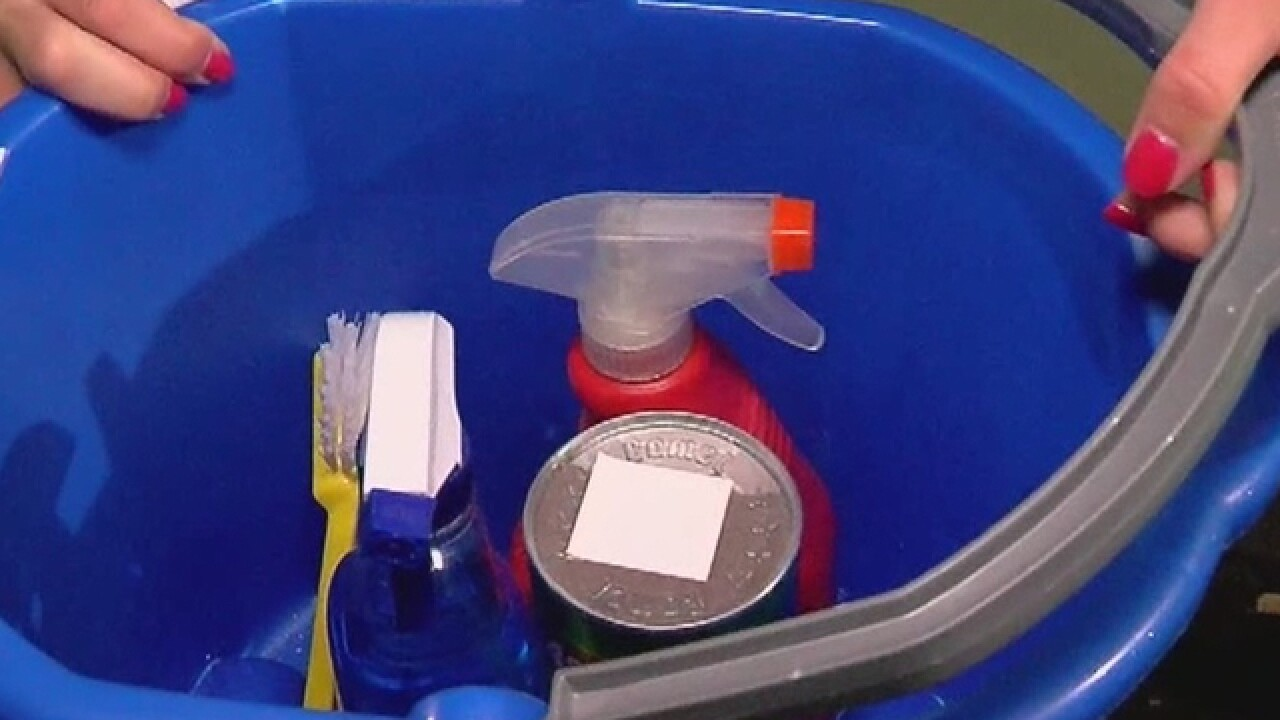 Your cleaning supplies needed for flood victims