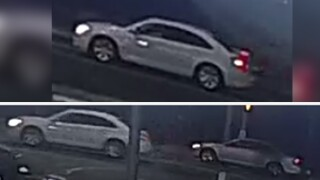 Sierra Vista Police are looking for two cars they say were involved in a drive-by shooting on Friday, May 15, 2020.