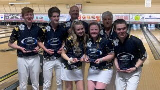 Rampart wins team bowling state title