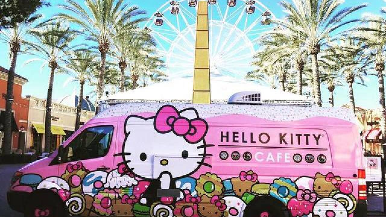 6cb7bba890b4 Hello Kitty Cafe Truck coming to Bakersfield