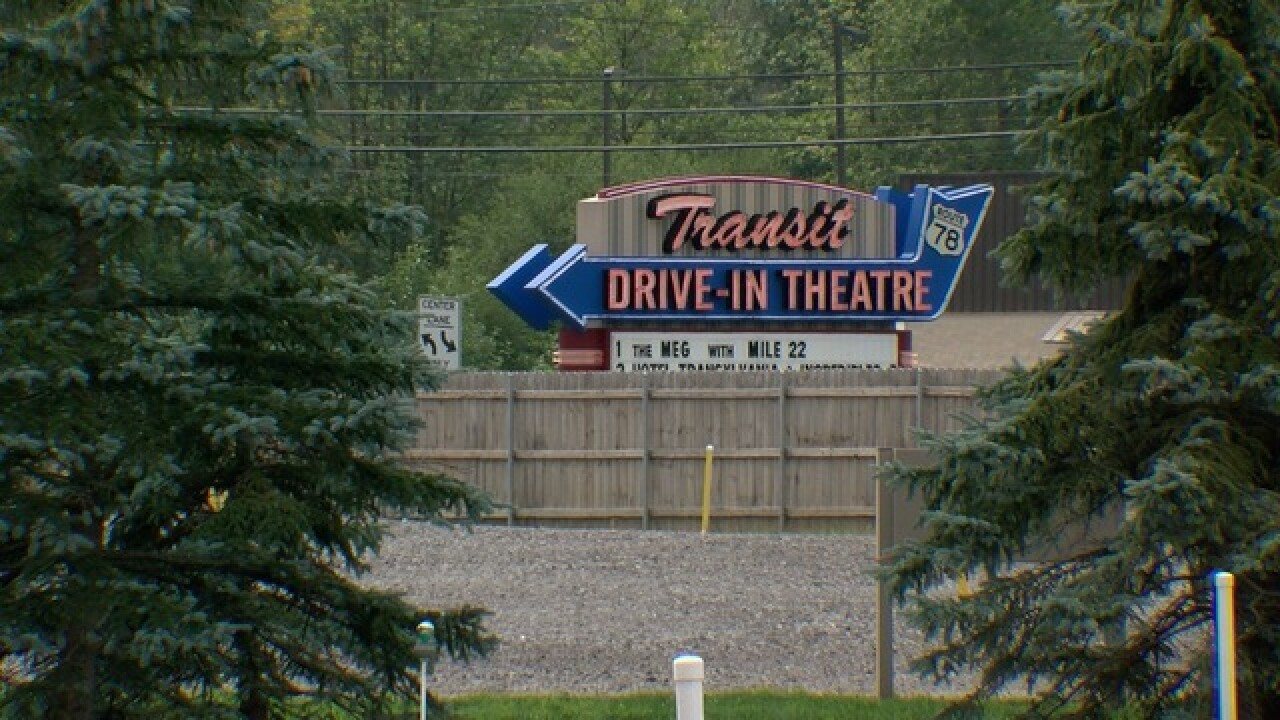 Woman goes into labor during movie at drive-in