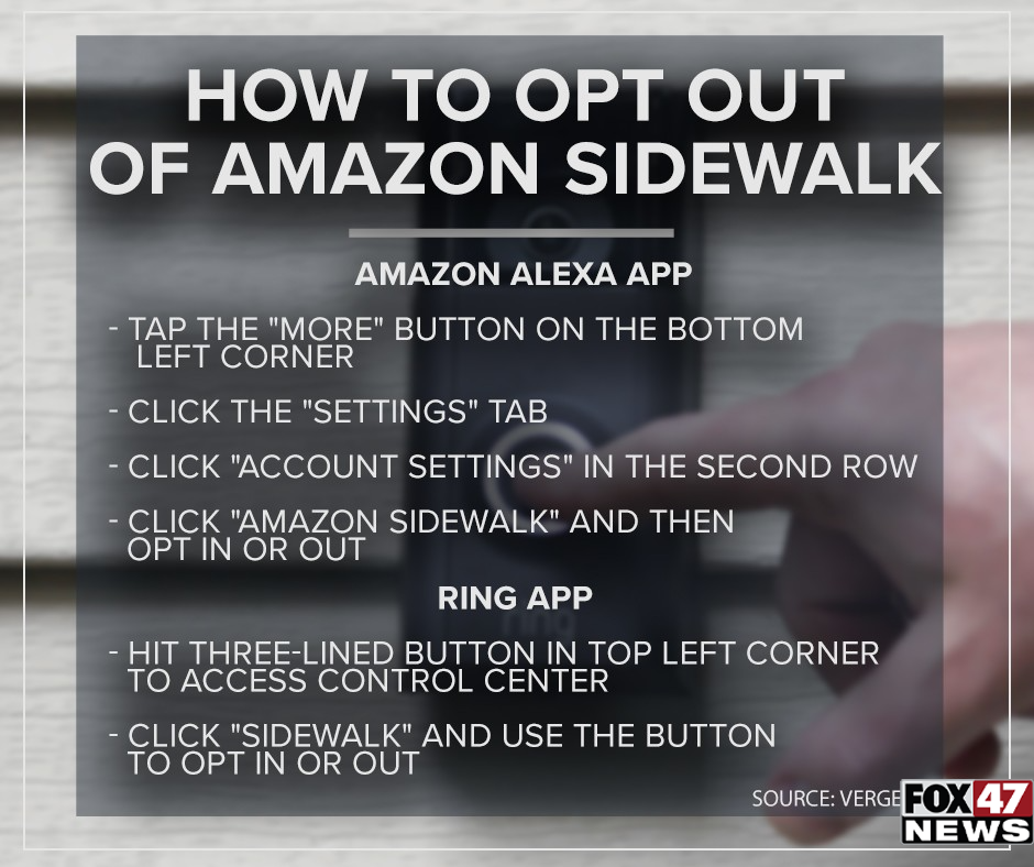 How to opt-out of Amazon Sidewalk