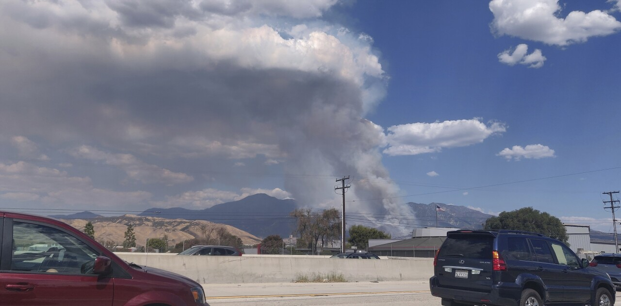 Wildfire sparked by 'gender reveal' party pyrotechnic device, CAL FIRE says