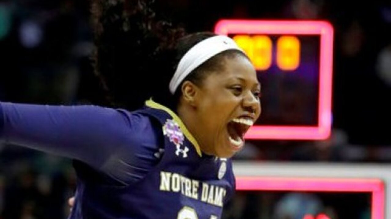Milwaukee native Arike Ogunbowale helps Notre Dame beat UConn with last-second shot in overtime