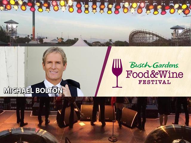 PHOTOS: Busch Gardens 2018 Food & Wine Festival concert performers