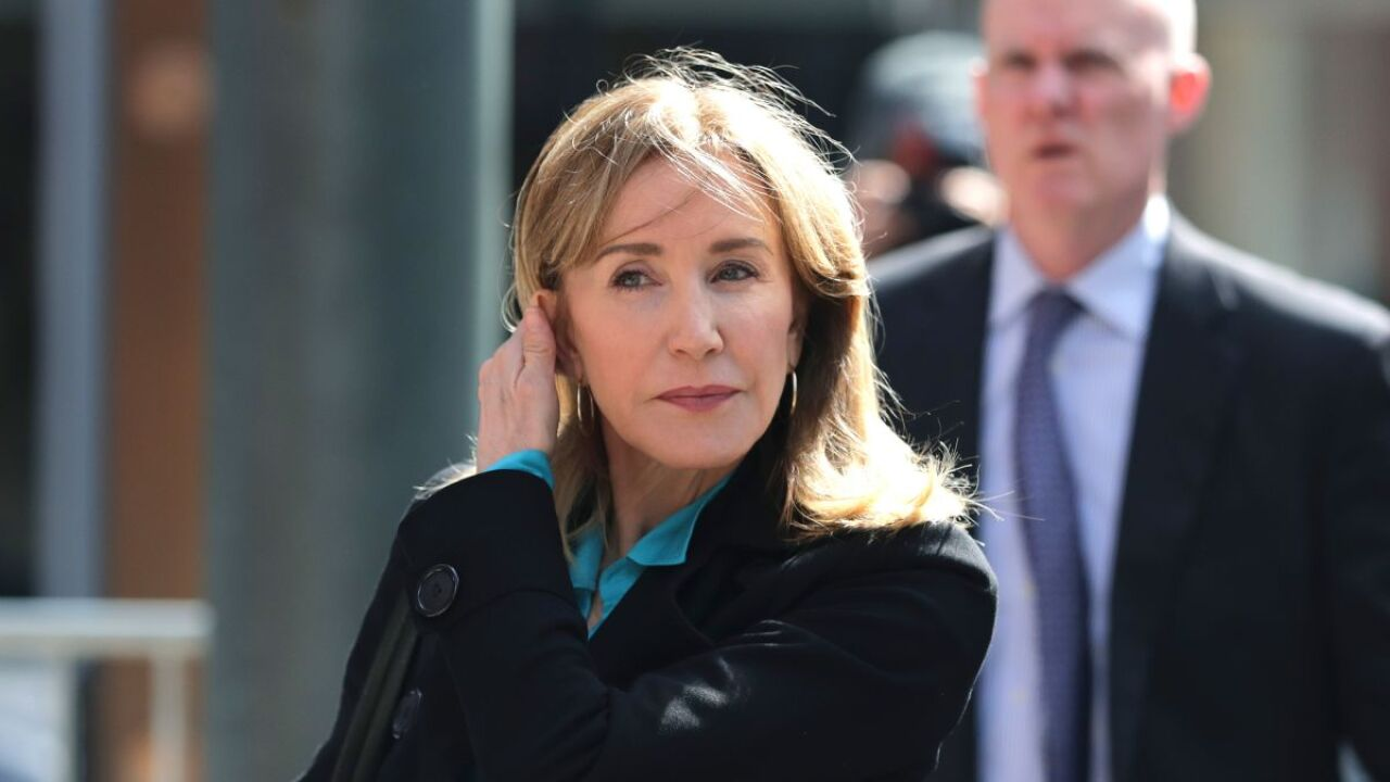 Actress Felicity Huffman is expected to plead guilty today in college admission scandal