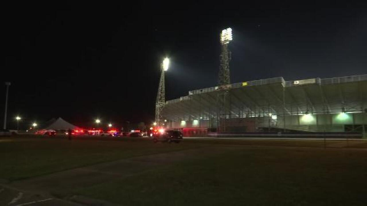 At least 10 teens injured in shooting at a high school football game in Alabama