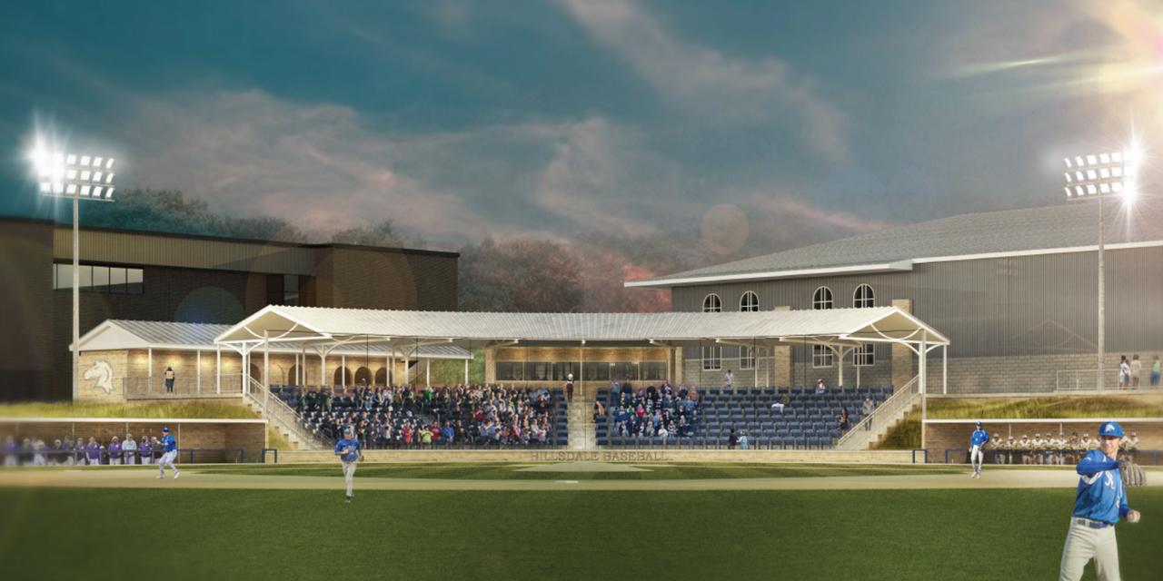 Hillsdale College New Baseball Field